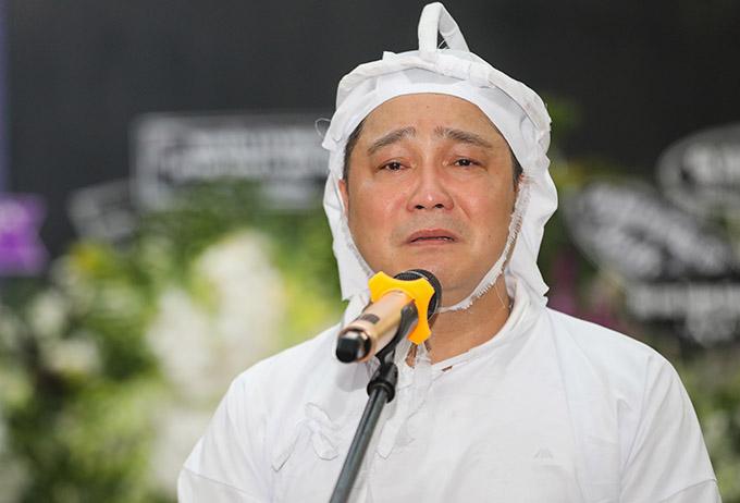Nam diễn viên hứa sẽ hoàn thành tâm nguyện cuối đời của cha và cảm ơn bạn bè, đồng nghiệp đã đến chia buồn với gia đình anh.