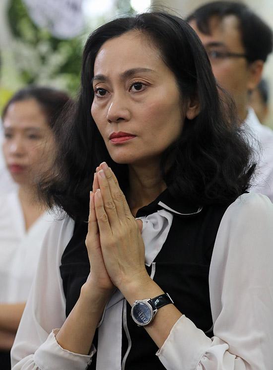 Diễn viên Hạnh Thuý ngưỡng mộ tài năng và nhân cách của nghệ sĩ Lý Huỳnh.