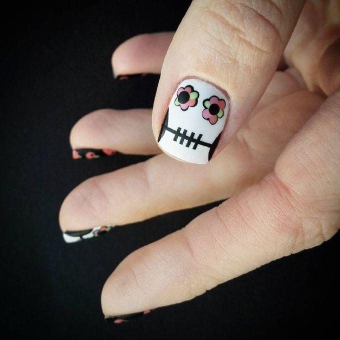 10 mẫu móng chủ đề Halloween phiên bản đáng yêu