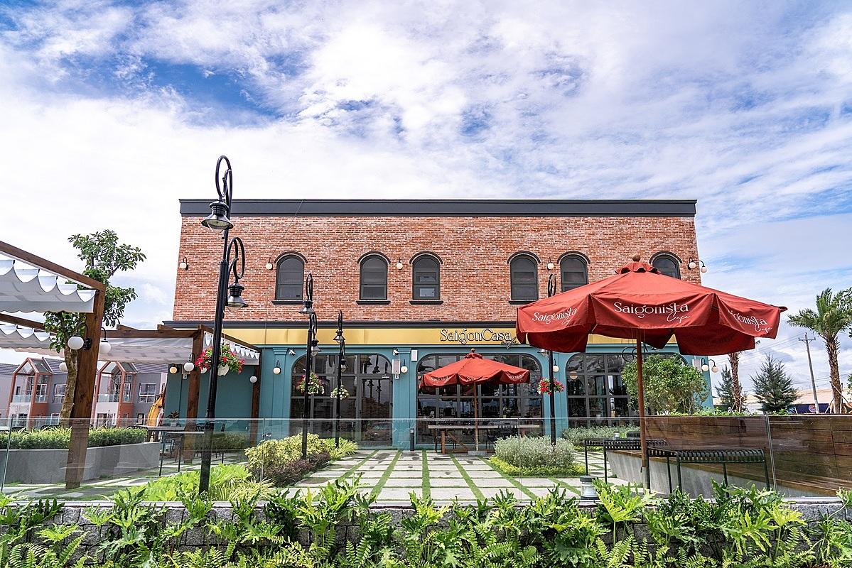 Tháng 10, Saigon Casa Café - thương hiệu café nổi tiếng thuộc sở hữu của Nova F&B - sẽ khai trương tại shophouse mặt tiền đường ven biển thuộc phân kỳ The Tropicana. Ảnh: Nova.