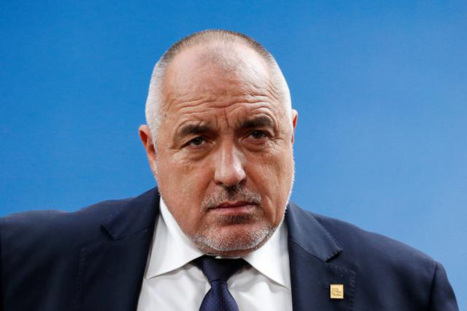 Thủ tướng Bulgaria Boyko Borissov. Ảnh: Reuters.