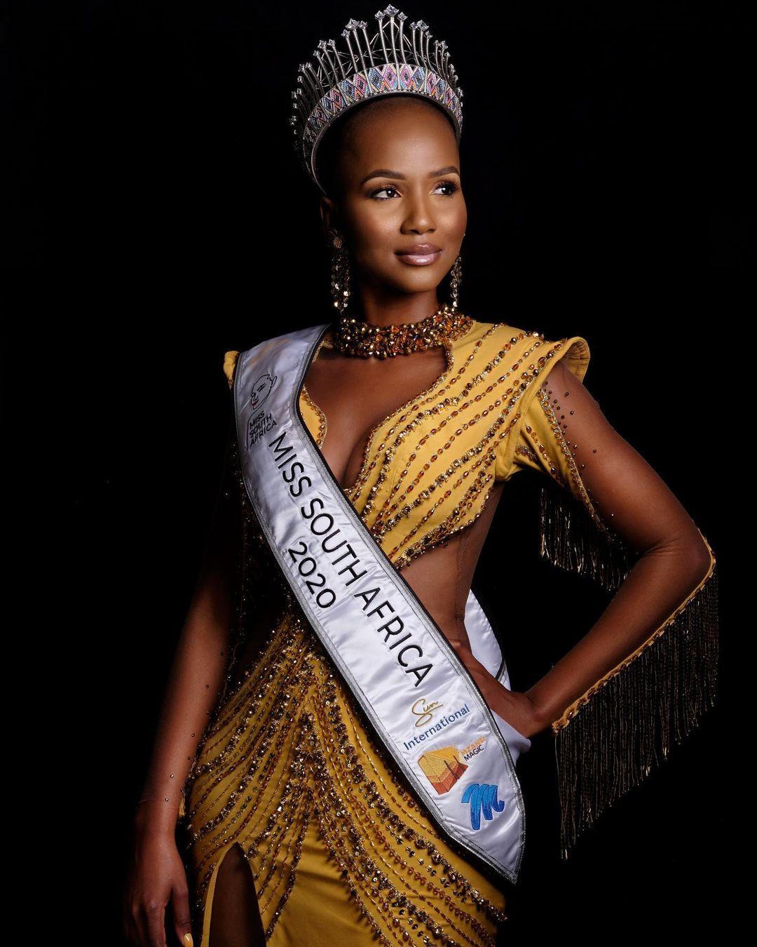 Shudufhadzo Musida đăng quang Hoa hậu Nam Phi hôm 24/10.
