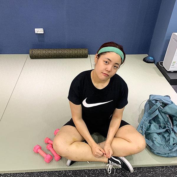 Yang Soo Bin tích cực tập luyện để có thân hình săn chắc.