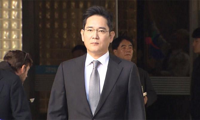 Thái tử Samsung Lee Jae-yong. Ảnh: Reuters.