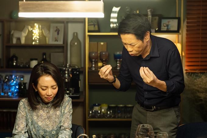 Thu Trang và Thái Hòa đóng vợ chồng nhiều bi hài.