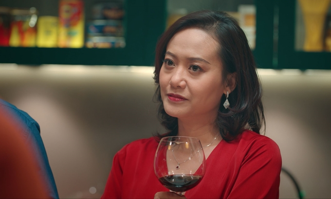 Vai Nguyệt Ánh của diễn viên Hồng Ánh được cài cắm nhiều ẩn ý hơn so với bản Hàn Quốc.