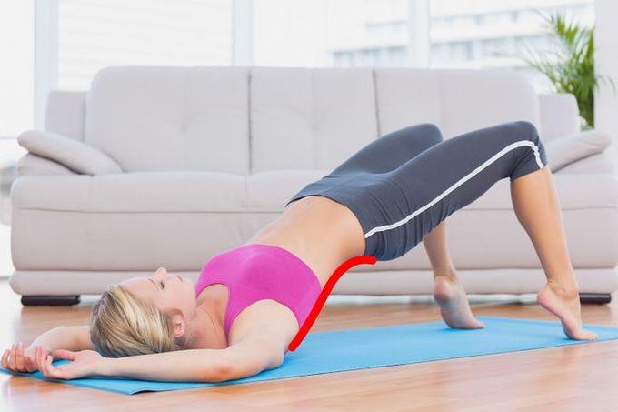 7 động tác cải thiện vóc dáng, tạo đường cong