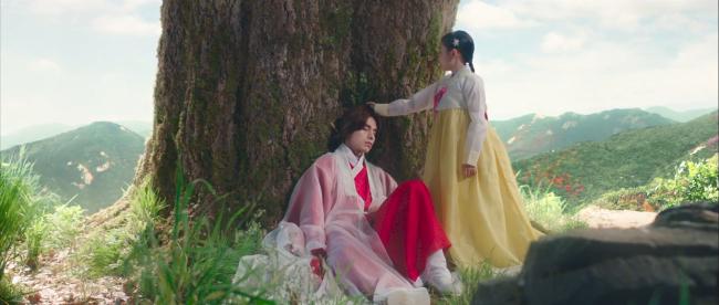 Chuyện tình của chàng thần núi và cô gái bé nhỏ Ah Eum.