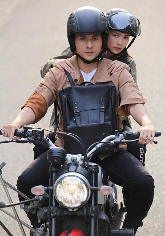 Lâm Bảo Châu diễn cặp với Minh Hằng trong web-drama Kẻ săn tin.