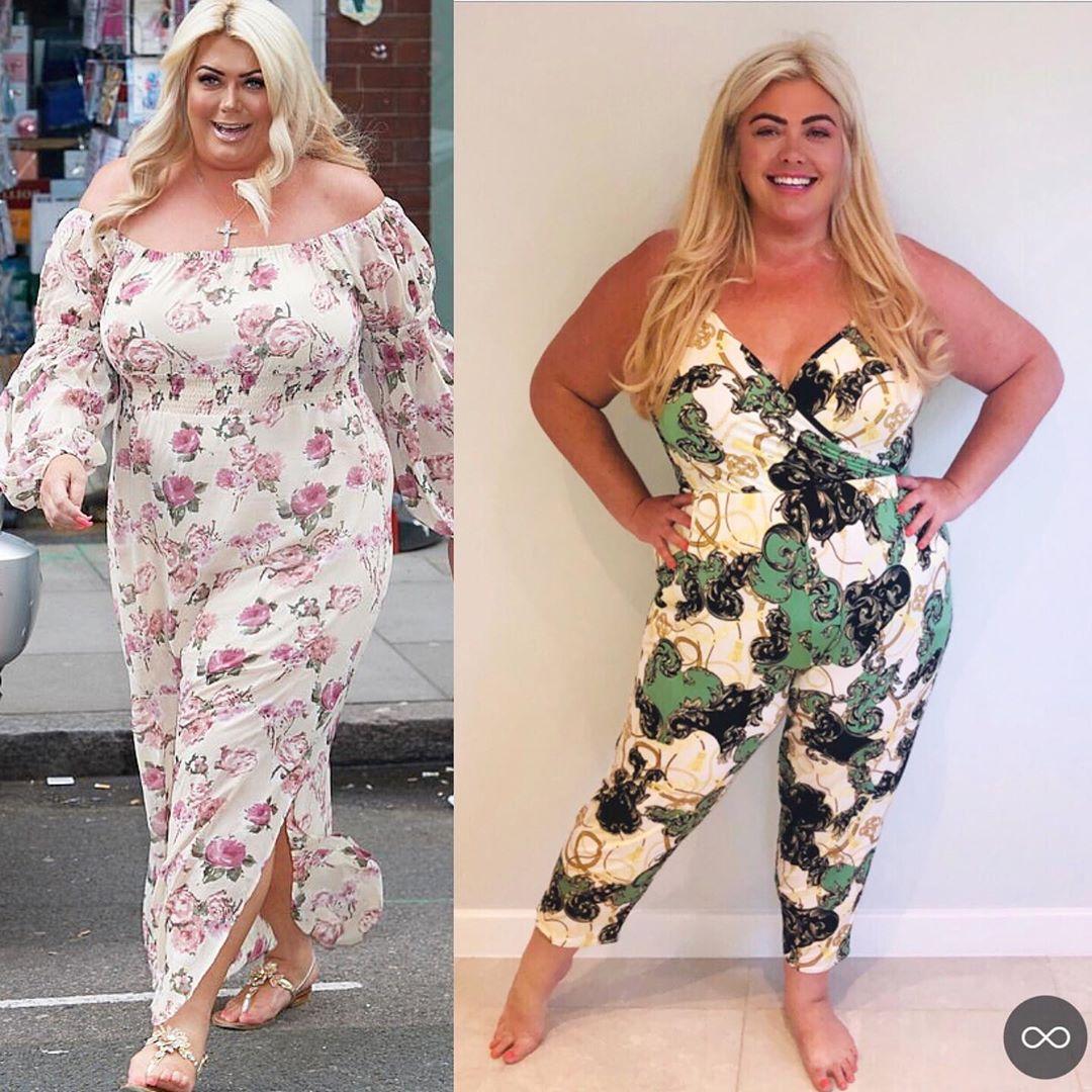 Sau khi giảm được 19 kg, Gemma đặt mục tiêu giảm thêm 20 kg nữa trong thời gian tới.