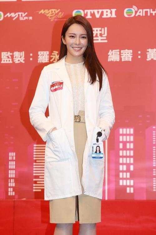 Hoa hậu Hoa kiều 2012 Trương Hy Văn được TVB tích cực lăng xê trong mấy năm nay.