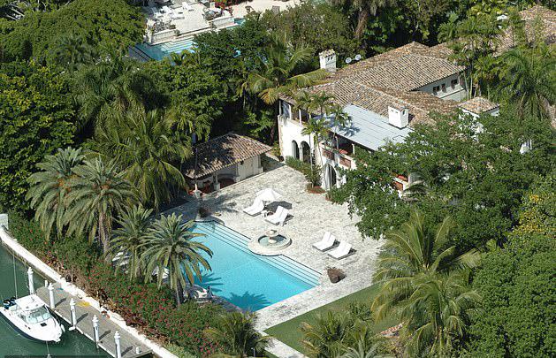 Biệt thự của Phil Collins ở Miami.