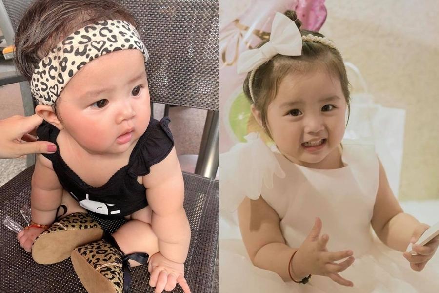 Bé Gà (tên thật Vy Lâm) chào đời tháng 10/2017, song cô bé được bố mẹ giữ kín thông tin từ lúc mới sinh đến sinh nhật tròn hai tuổi.