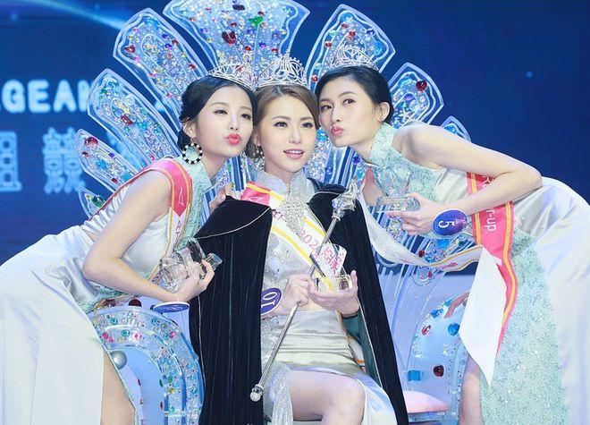 Thí sinh Miss Hong Kong giành Hoa hậu châu Á