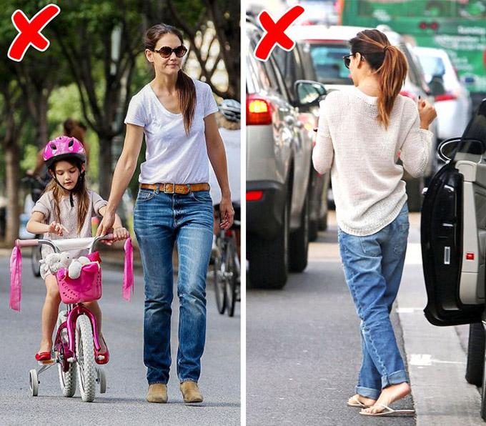 Quần jeans bị dãoNhững chiếc quần jeans thường bị giãn ra sau nhiều lần giặt, khiến người mặc trông luộm thuộm và mất hết vẻ cuốn hút.