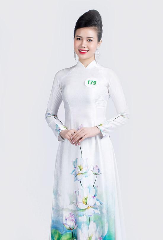 Nguyễn Thị Yến Nhi cao 1,69 m - thí sinh của tỉnh Đắk Nông. Cô là sinh viên Đại học Đà Nẵng.