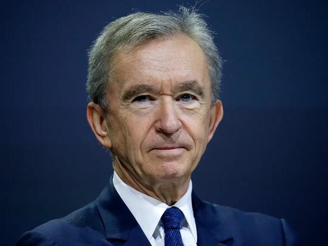 Tỷ phú Pháp Bernard Arnault, Chủ tịch kiêm CEO tập đoàn LVMH. Ảnh: BI.