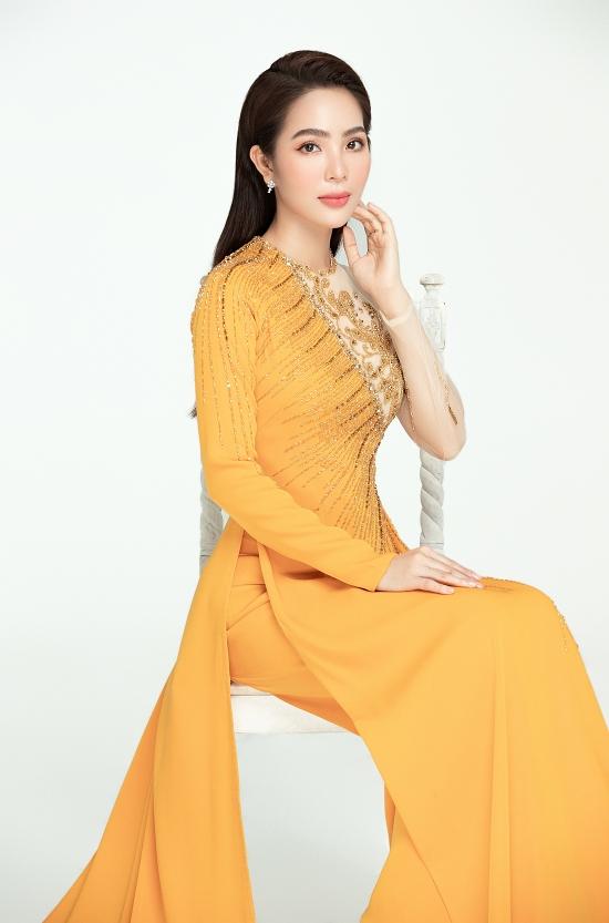Dương Kim Ánh gợi ý áo dài đính kết - 16