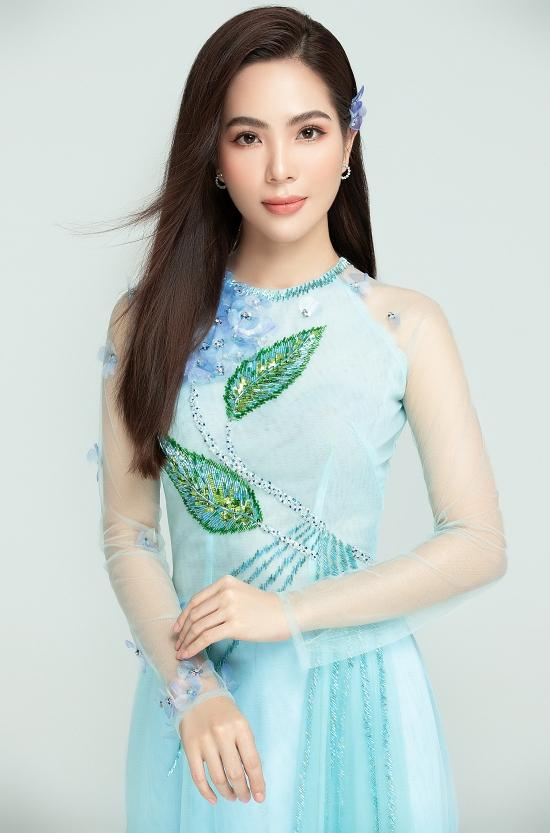Dương Kim Ánh gợi ý áo dài đính kết - 4