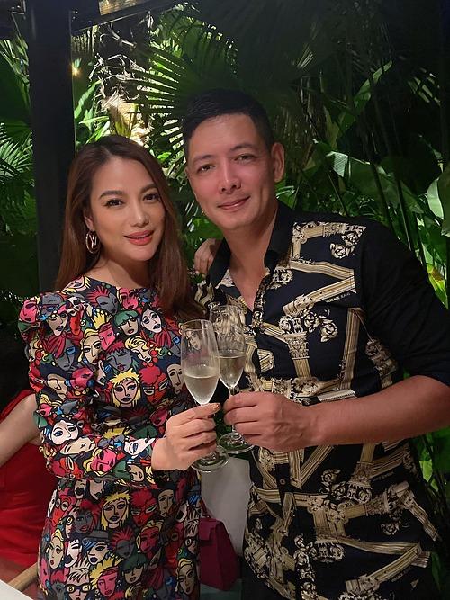 Diễn viên Bình Minh mừng sinh nhật sớm Trương Ngọc Ánh.