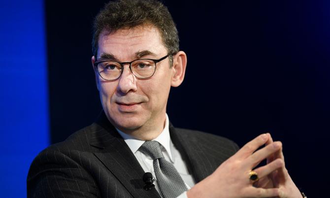 Ông Albert Bourla, CEO hãng dược Pfizer. Ảnh: BI.
