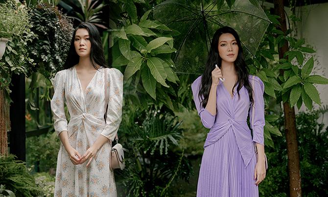 Hoa hậu Thuỳ Dung diện trang phục Adrian Anh Tuấn