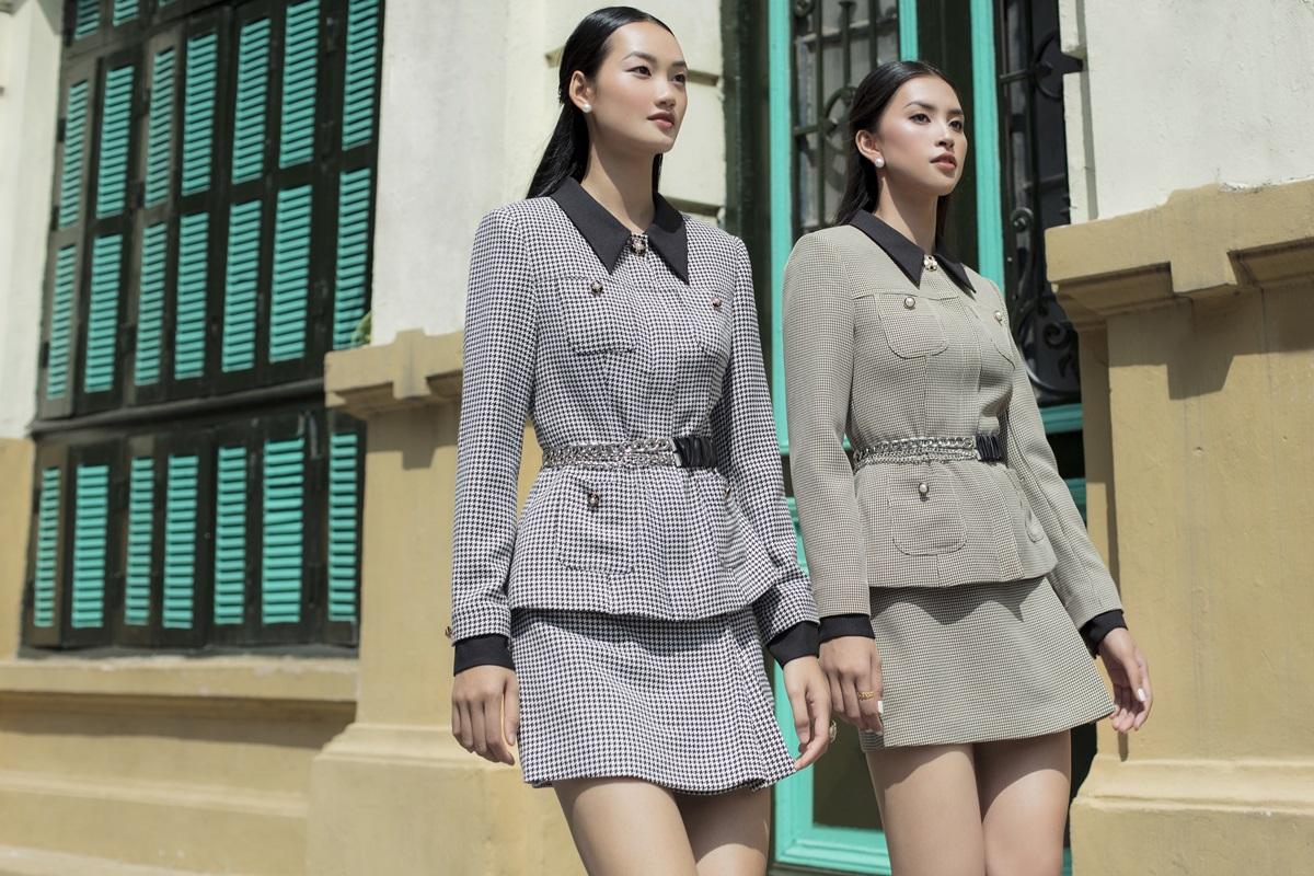 Gam trung tính và đơn sắc giúp phái nữ dễ phối với trang sức, phụ kiện.