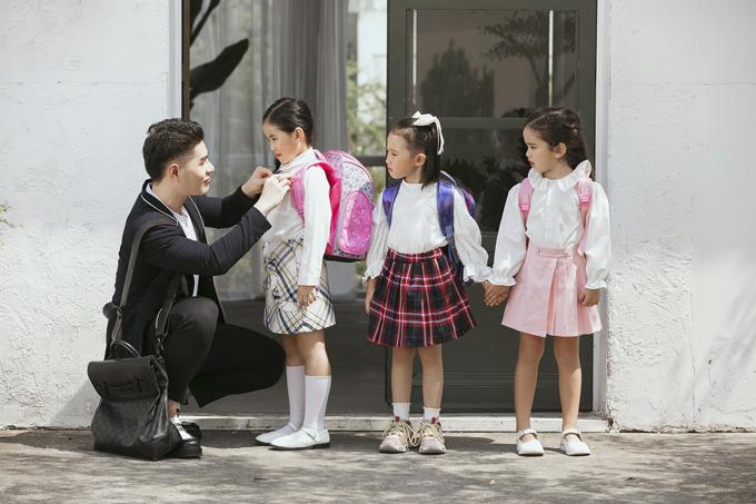 Bằng chính tình yêu thương với học trò và niềm đam mê thời trang, đạo diễn trẻ tạo được dấu ấn lớn trong suốt quá trình 15 năm đào tạo mẫu nhí.
