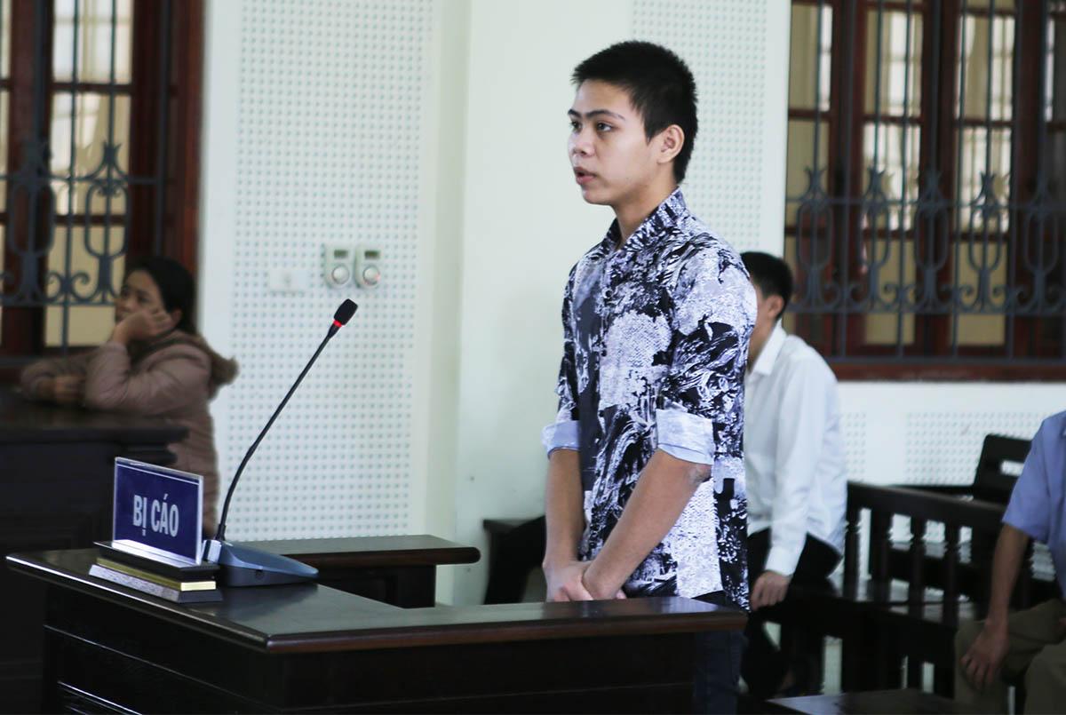 Bị cáo Hoàng tại phiên xử. Ảnh: Anh Thư