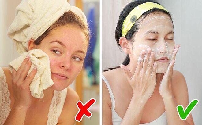 Rửa mặt tưởng như là việc rất đơn giản nhưng cũng có nhiều nguyên tắc hơn bạn tưởng.