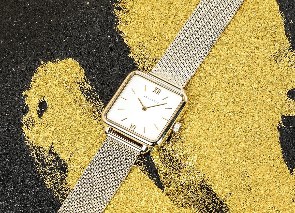 Mức ưu đãi áp dụng cho toàn bộ sản phẩm tại cửa hàng, trong đó có đồng hồ Diamond D, Aries Gold, kính mắt, bút ký...
