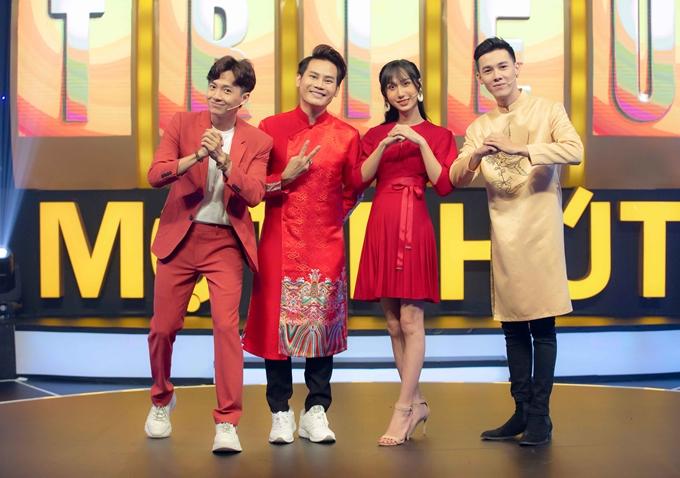Ngô Kiến Huy quay 100 triệu 1 phút số Tết cùng MC Hồng Phúc, ca sĩ Lynk Lee và diễn viên - đạo diễn Tâm Anh. Các tập của chương trình phát sóng trên VTV3 vào 11h trưa chủ nhật hàng tuần.