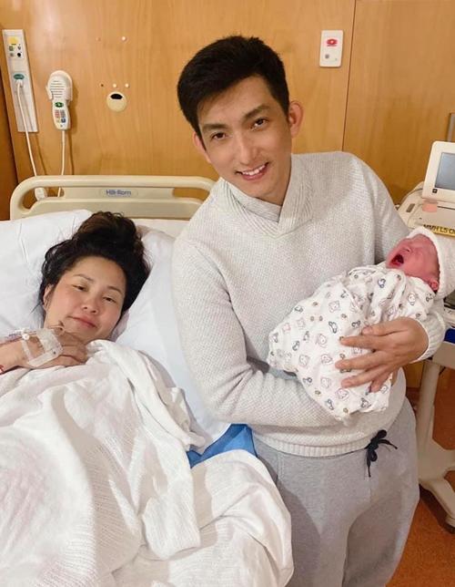 Bảo Duy đón con trai Eason chào đời cách đây 4 tháng.