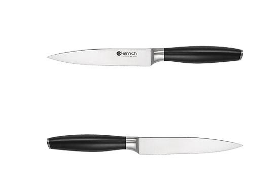 Bộ dao Elmich EL3801 1.529.000đ (-39%)Bộ dao gồm 6 món : 4 dao, 1 kéo cắt gà và 1 giá để daoàm từ inox cao cấp không gỉKích cỡ dao vừa tay giúp sử dụng dễ dàng và không bị mỏi tay