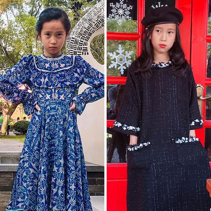 Ông bố trẻ tự học may, làm hơn 100 bộ váy cho con gái - 4