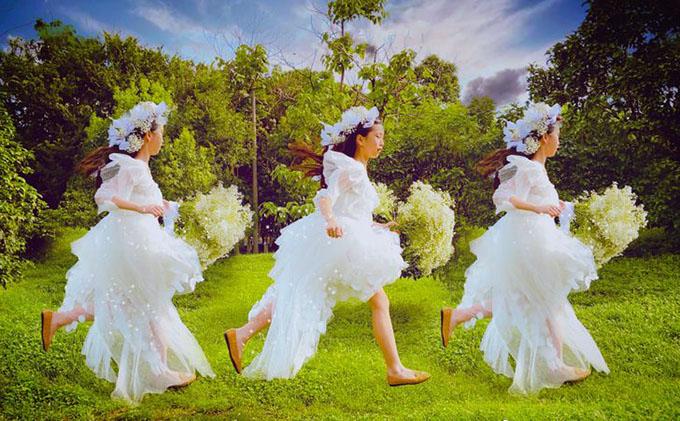 Ông bố trẻ tự học may, làm hơn 100 bộ váy cho con gái - 6