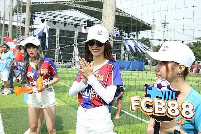 Sân bóng Bộ Công an sẽ là nơi tranh tài của giải đấu. Ảnh: FCB88