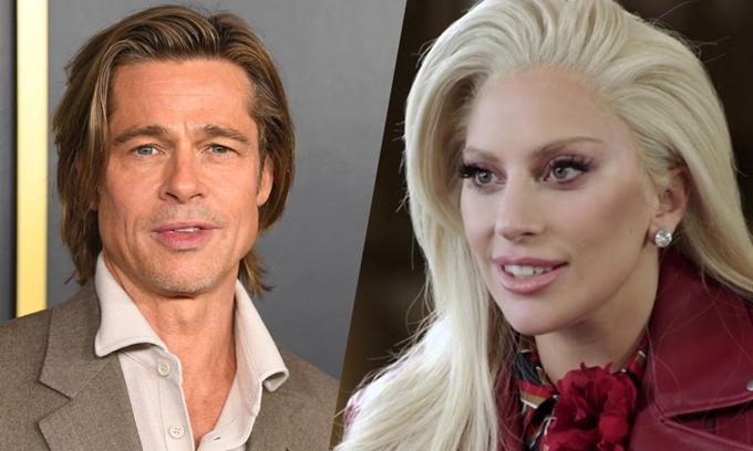 Tài tử Brad Pitt và ca sĩ Lady Gaga lần đầu đóng phim chung.