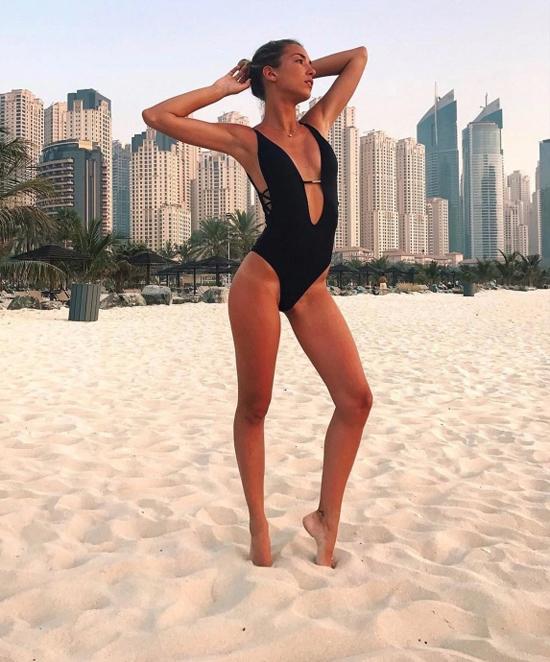 Bà xã Alice Campello của Morata là người mẫu kiêm thiết kế thời trang tại Italy. Ảnh: Instagram.