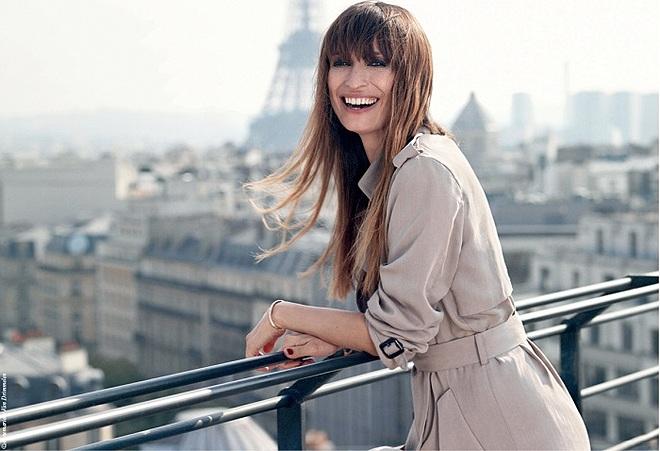Phụ nữ Pháp ưu tiên vẻ đẹp tự nhiên nên rất hạn chế nhuộm tóc.