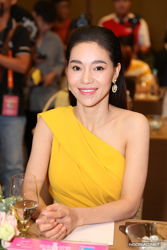 Bà Phạm Kim Dung - Phó Trưởng ban tổ chức chia sẻ niềm vui khi cuộc thi diễn ra thành công, tìm được top 3 xứng đáng. Ngoài ra, đêm chung kết được tổ chức hoành tráng và nhận được nhiều lời khen của công chúng.