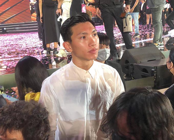 Cầu thủ Đoàn Văn Hậu từ chối chia sẻ về mối quan hệ với Doãn Hải My.