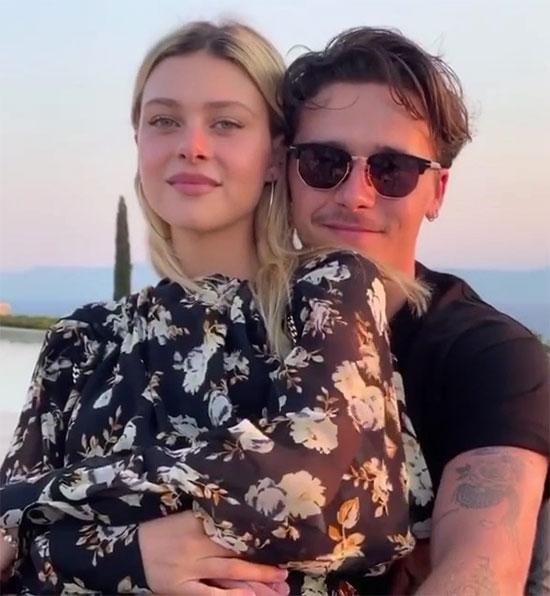 Cậu cả nhà Becks và vợ sắp cưới Nicola Peltz bên nhau không rời suốt từ đầu năm. Ảnh: Instagram.