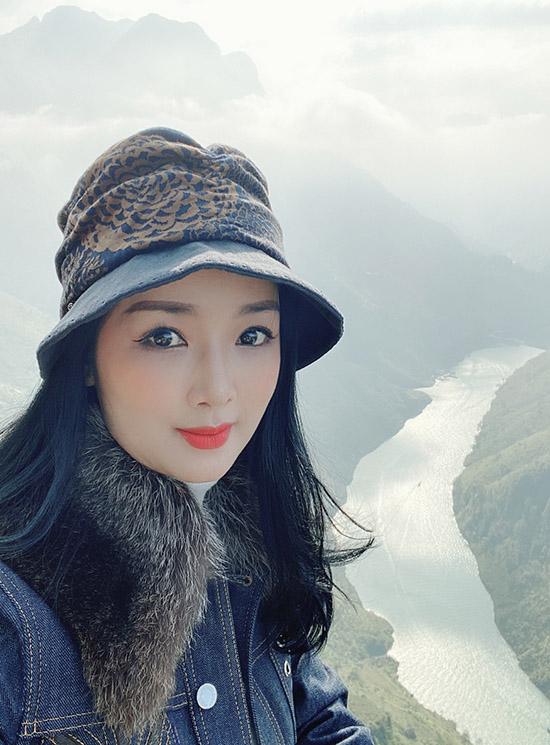 Cô khen phong cảnh Hà Giang như ở chốn bồng lai tiên cảnh dễ làm say đắm lòng người.