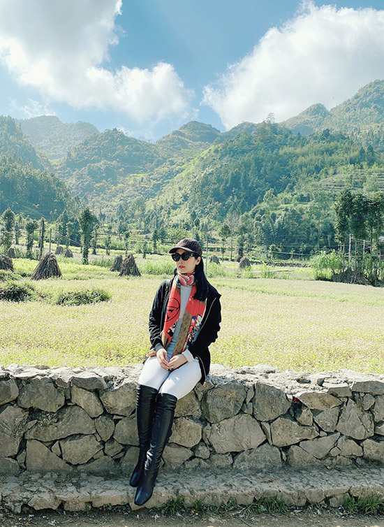 Từ khi có dịch Covid-19, Giáng My không thể vi vu sang chảnh ở nước ngoài nhưng cô mãn nguyện vì khám phá thêm được nhiều địa điểm đẹp trong nước.