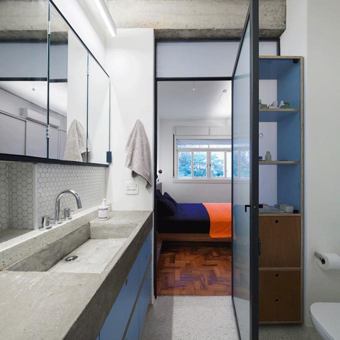 Căn hộ có phòng ngủ ốp gỗ  - 2