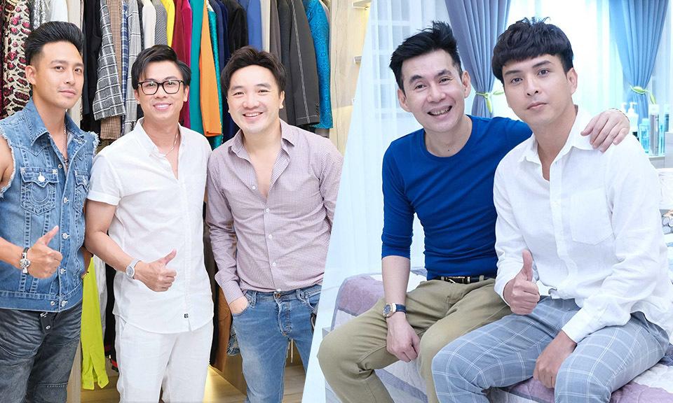 Bạn bè nghệ sĩ mừng Hồ Việt Trung có nhà mới - Ngôi sao