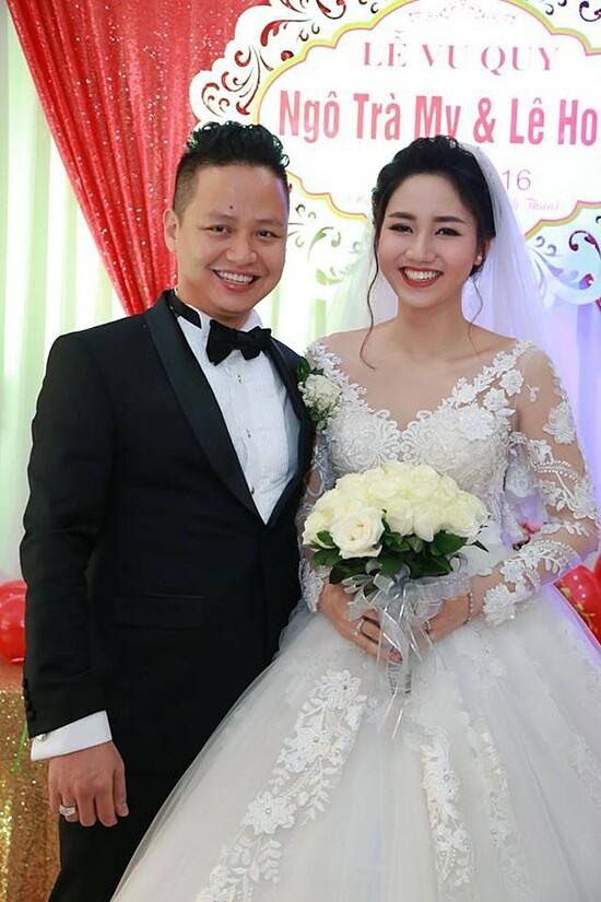 Á hậu 1 Hoa hậu Hoàn vũ Việt Nam 2015 Ngô Trà My được chọn dự thi Miss Universe 2016. Bất ngờ, cô tuyên bố theo chồng về dinh.