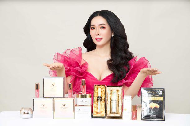 Hoa hậu Vivian Trần tự tin mang đến vẻ đẹp tự nhiên cho mọi phụ nữ Việt.