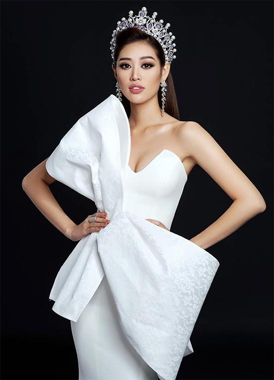 Hoa hậu Hoàn vũ Việt Nam 2019 Nguyễn Trần Khánh Vân.